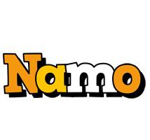 Namo cartoon logo
