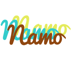 Namo cupcake logo