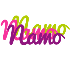 Namo flowers logo