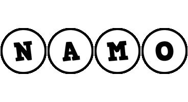 Namo handy logo