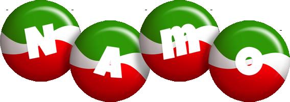 Namo italy logo