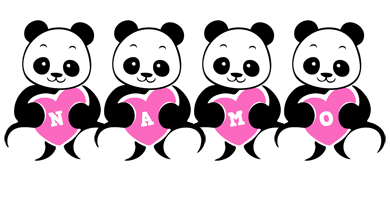 Namo love-panda logo