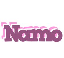 Namo relaxing logo