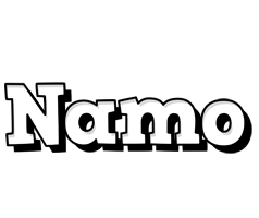 Namo snowing logo