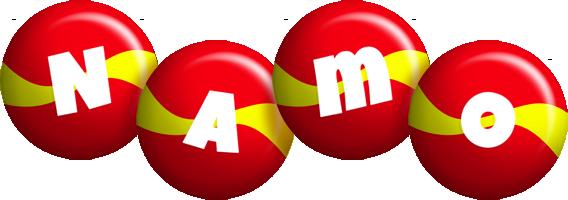 Namo spain logo