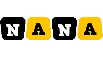 Nana boots logo
