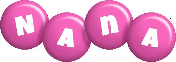 Nana candy-pink logo