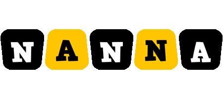 Nanna boots logo