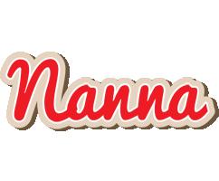 Nanna chocolate logo