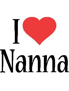 Nanna i-love logo