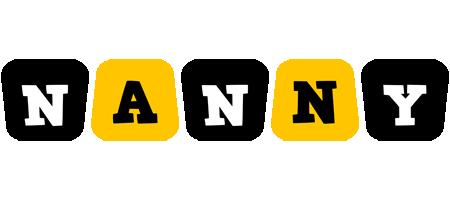 Nanny boots logo