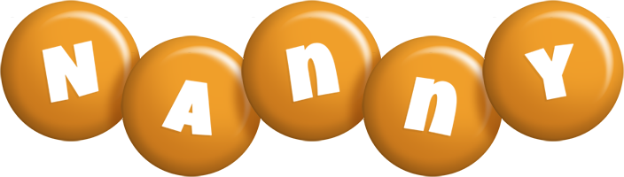 Nanny candy-orange logo