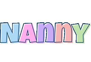 Nanny pastel logo