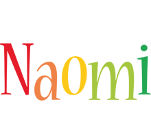 Naomi birthday logo