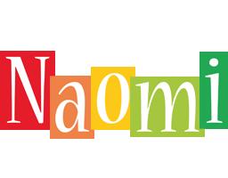 Naomi colors logo