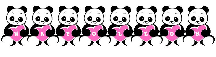 Napoleon love-panda logo