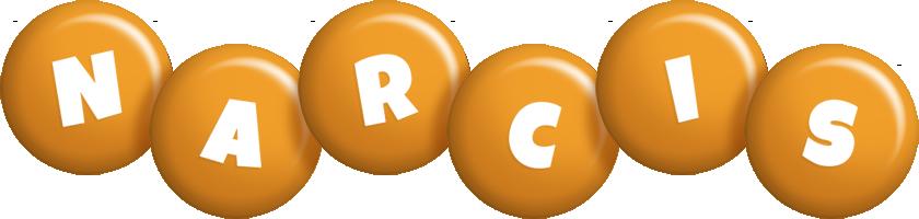 Narcis candy-orange logo