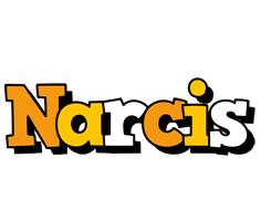 Narcis cartoon logo