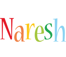 Naresh birthday logo