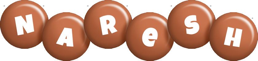 Naresh candy-brown logo