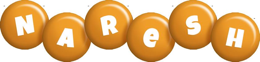 Naresh candy-orange logo
