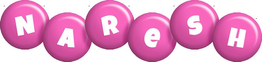 Naresh candy-pink logo