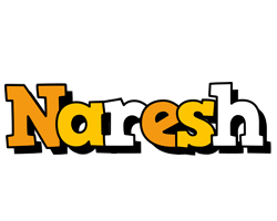 Naresh cartoon logo
