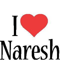Naresh i-love logo