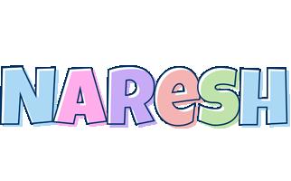 Naresh pastel logo