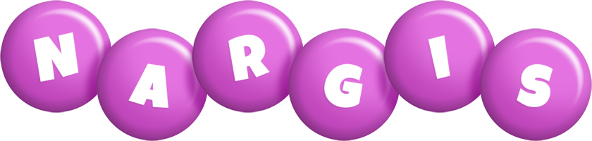 Nargis candy-purple logo