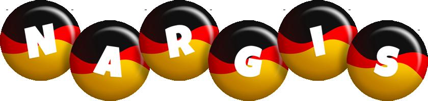 Nargis german logo