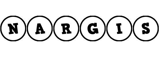Nargis handy logo