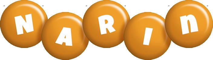 Narin candy-orange logo