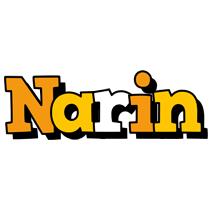 Narin cartoon logo