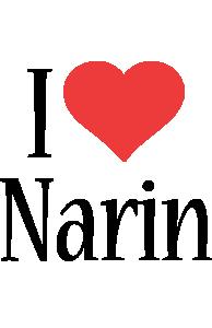 Narin i-love logo