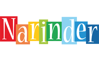 Narinder colors logo