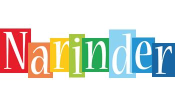 Narinder colors logo