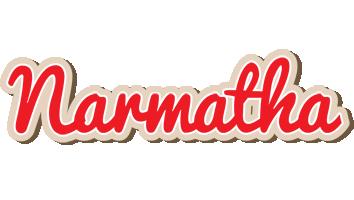 Narmatha chocolate logo