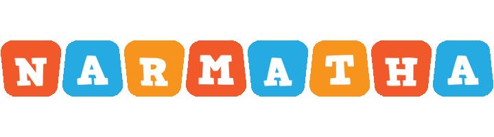 Narmatha comics logo