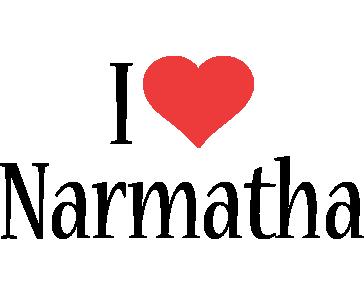 Narmatha i-love logo