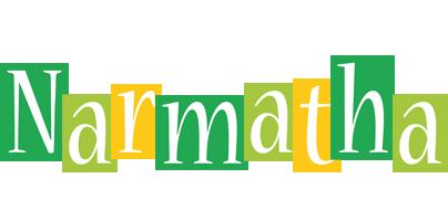 Narmatha lemonade logo