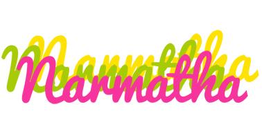 Narmatha sweets logo