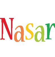 Nasar birthday logo