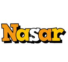 Nasar cartoon logo