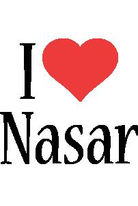 Nasar i-love logo