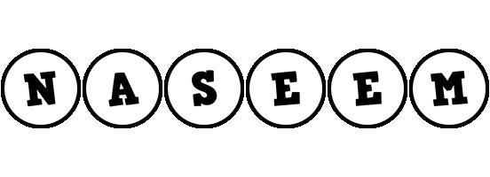 Naseem handy logo