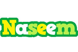 Naseem soccer logo