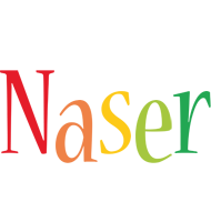 Naser birthday logo