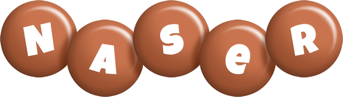 Naser candy-brown logo