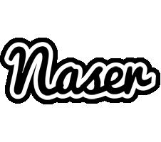 Naser chess logo